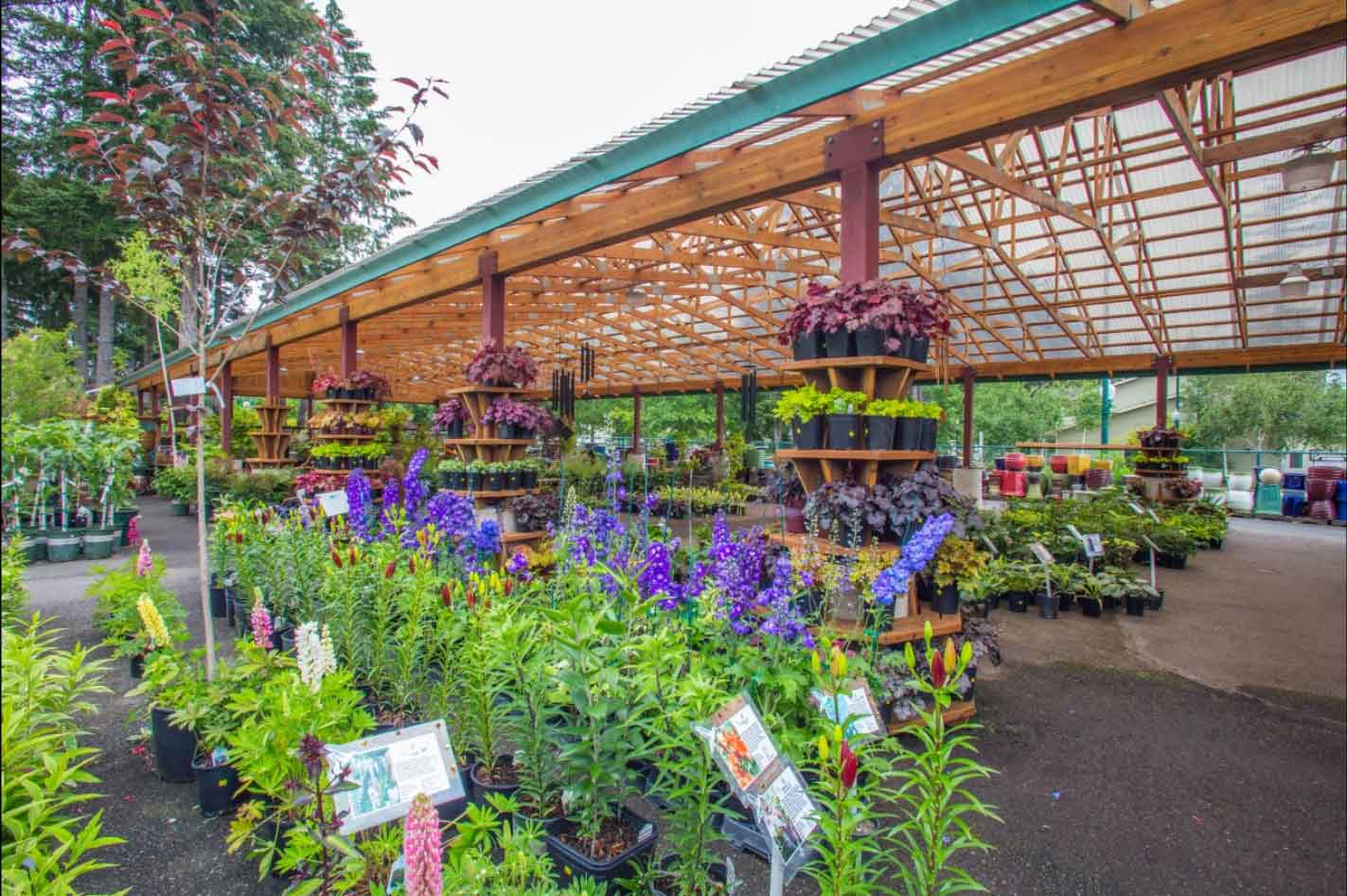 While You Take In The Sights, You Can Pick Up Supplies For Your Home Garden  And Landscape. Our Complete Line Of Plants Is Always Fully Stocked.