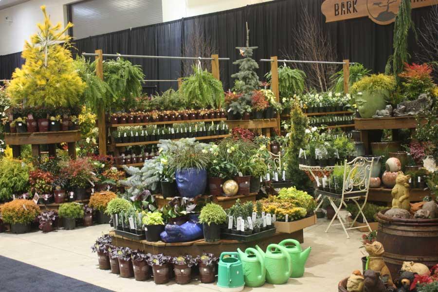 Bark and garden center for Garten shop