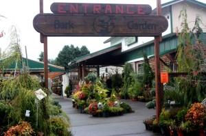 Bark and Garden Center Entrance